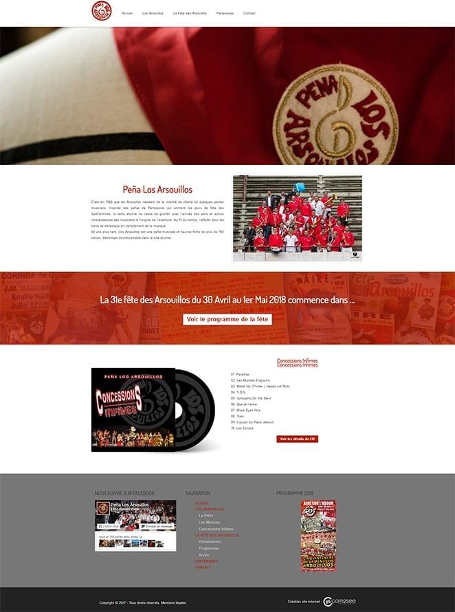 Site internet : Peña Los Arsouillos