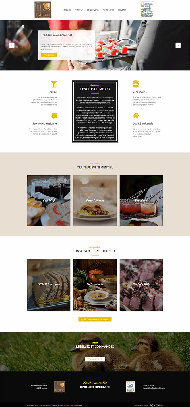 Site internet : Enclos du Mellet