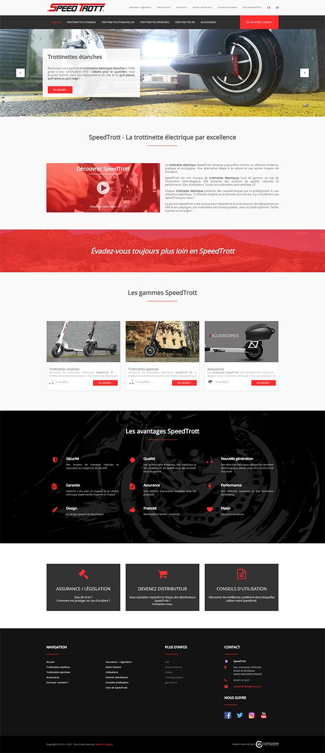 Site internet : SpeedTrott